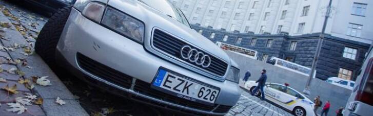 """Рада поддержала новый законопроект о растаможке """"евроблях"""""""