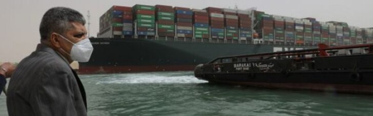 Пентагон отправит специалистов для разблокировки Суэцкого канала