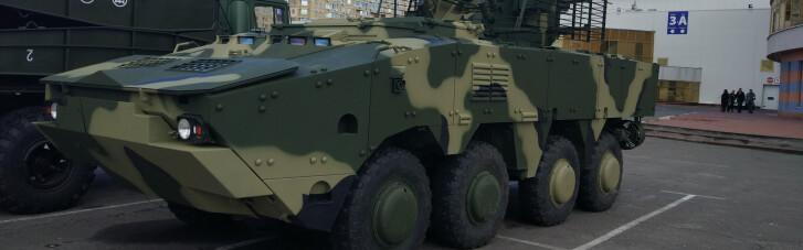 """Наводчик для танков. Как БТР-4 """"Буцефал"""" сделался незаменимым на Донбассе"""