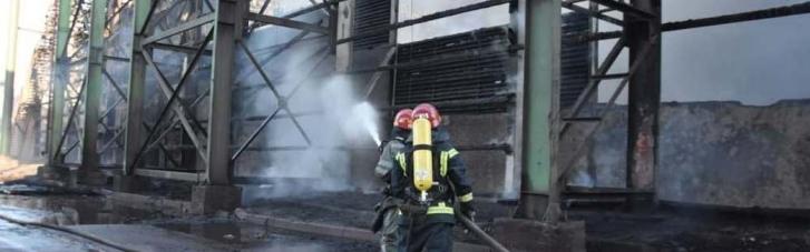 Під час пожежі в Одеській області врятували 30 тисяч тонн зерна (ФОТО)