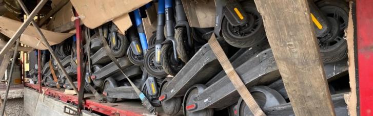 Чернігівські прикордонники зірвали контрабандну оборудку з електросамокатами (ФОТО)