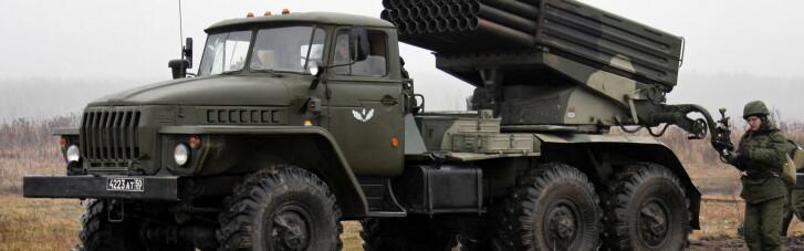 """Місія ОБСЄ виявила ще півтора десятка """"Градів"""" бойовиків на Донбасі і нові мінні загородження"""