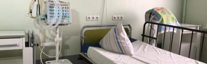 На Харківщині в лікарнях закінчуються ліжка з киснем