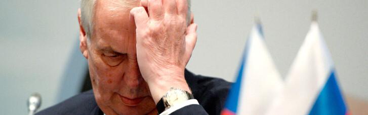 Вибухи в Чехії: глава МВС відкинув спроби Земана виправдати Кремль