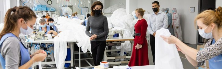 В Украине стартовало производство высококачественных защитных костюмов для медиков
