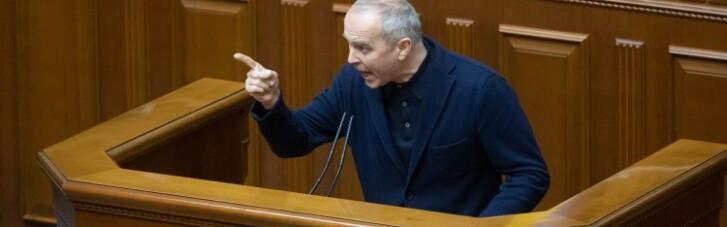 Шуфрич без маски закликав Раду піти на карантин: Разумков відповів