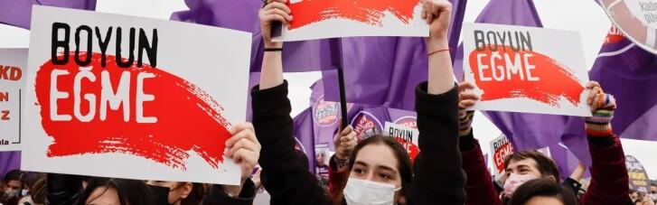 Байден осудил Эрдогана за отказ от обязательств по защите прав женщин
