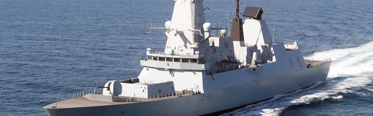 Попередили про навчання, а не про обстріл: Британія потролила росіян за інцидент з HMS Defender