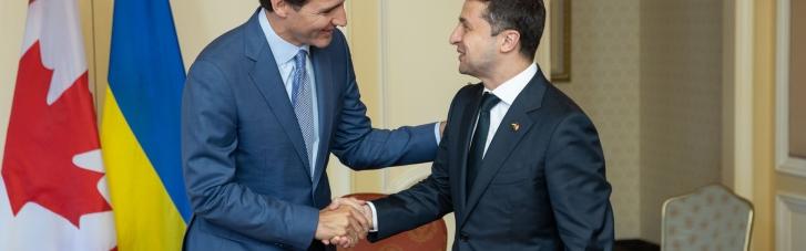 Зеленський привітав прем'єра Канади з перемогою на виборах