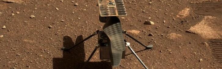 Первый полет вертолета Ingenuity на Марсе пришлось перенести