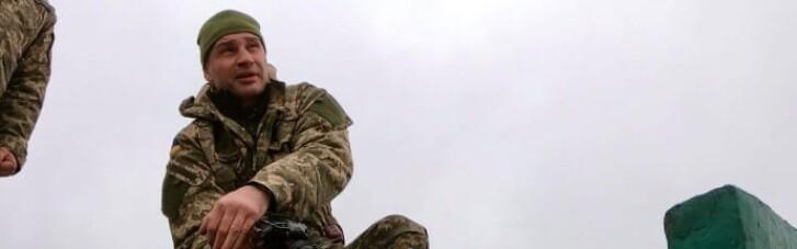 Український Рембо: Кличко кинув гранату та стрибнув під танк (ФОТО)