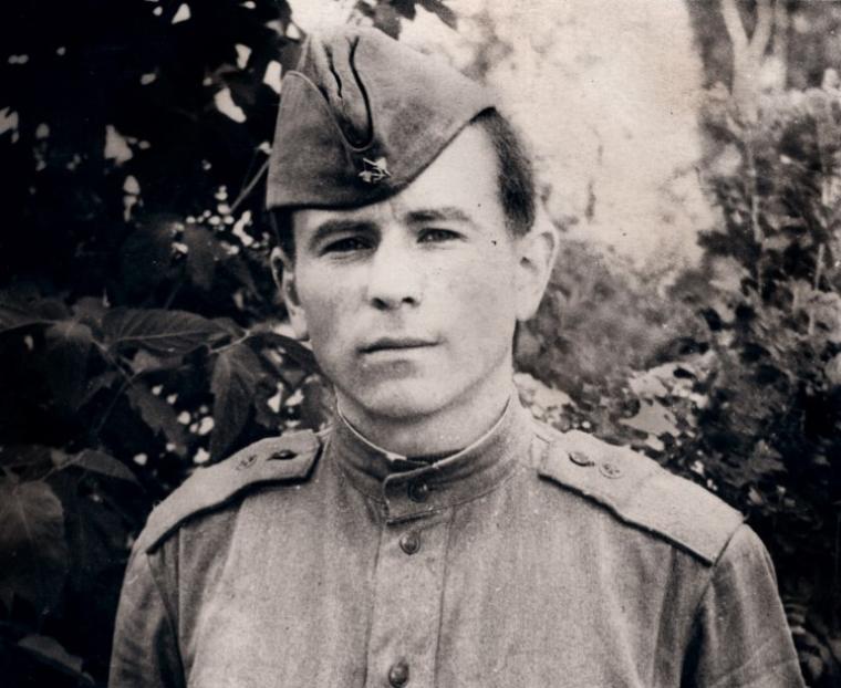 Михайло Поплавський під час строкової служби в Збройних Силах