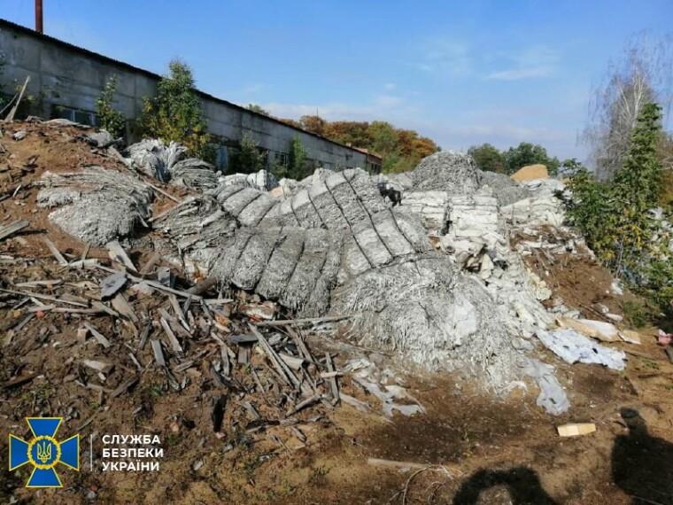 Фото нелегальной свалки на Черниговщине