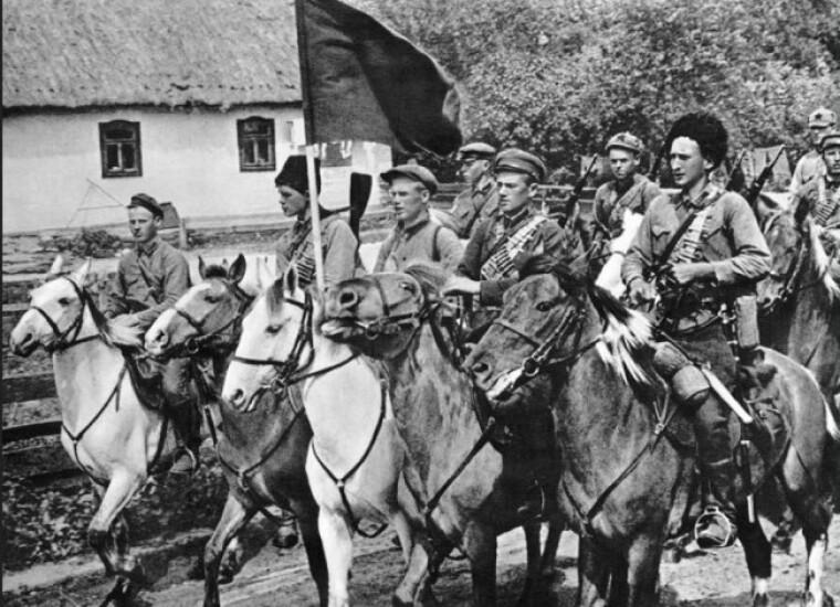 Красные кавалеристы Первой конной