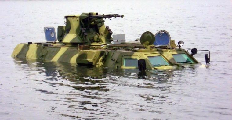 Плаваючий БТР-4