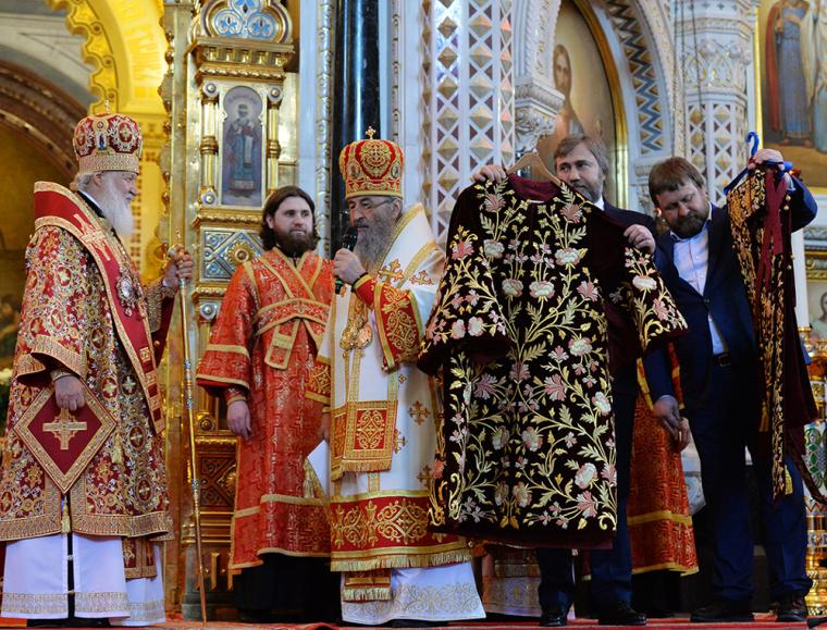 Вадим Новинский и Митрополит Онуфрий