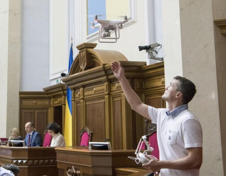 Игорь Луценко в зале Верховной Рады