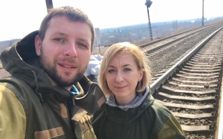 Владимир Парасюк с сестрой Ириной Голуб / Facebook.com