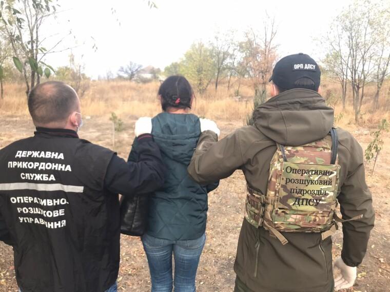 В Донецкой области пограничники обнаружили союзницей оккупантов