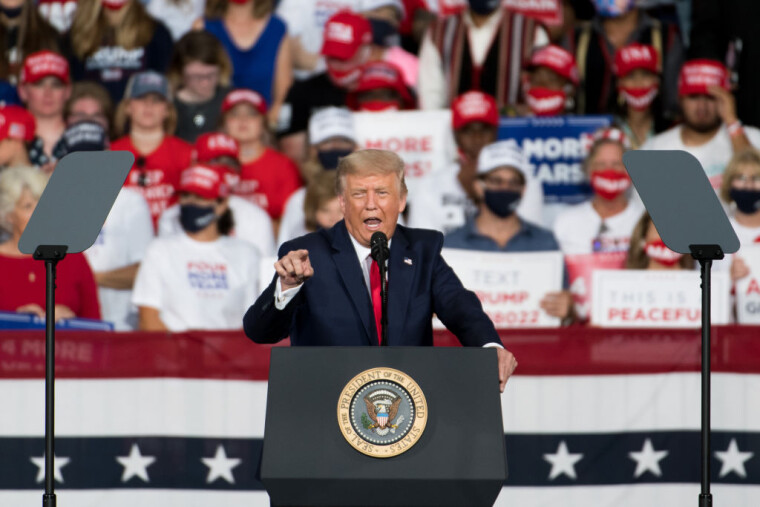 """Дональд Трамп заявив, що """"заслуговує"""" переобрання не тільки на другий, а й на третій президентський термін"""