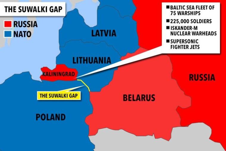 Сувалкский коридор может стать большой проблемой для НАТО