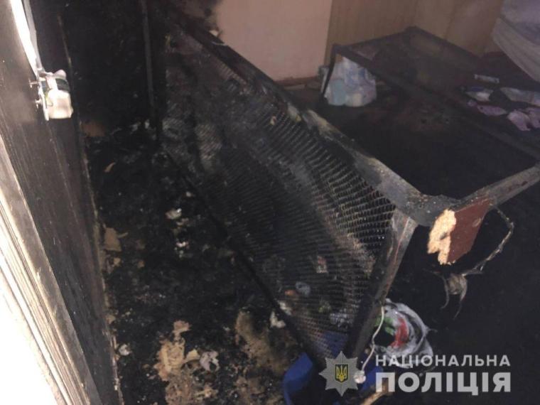 Пожежа сталася в гематологічному відділенні