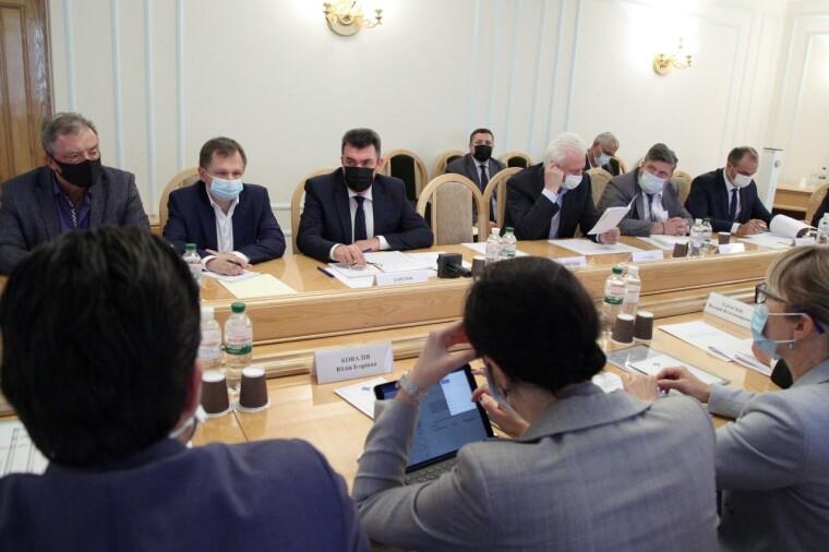 Заседание Совета экспертов по вопросам энергетической безопасности в СНБО