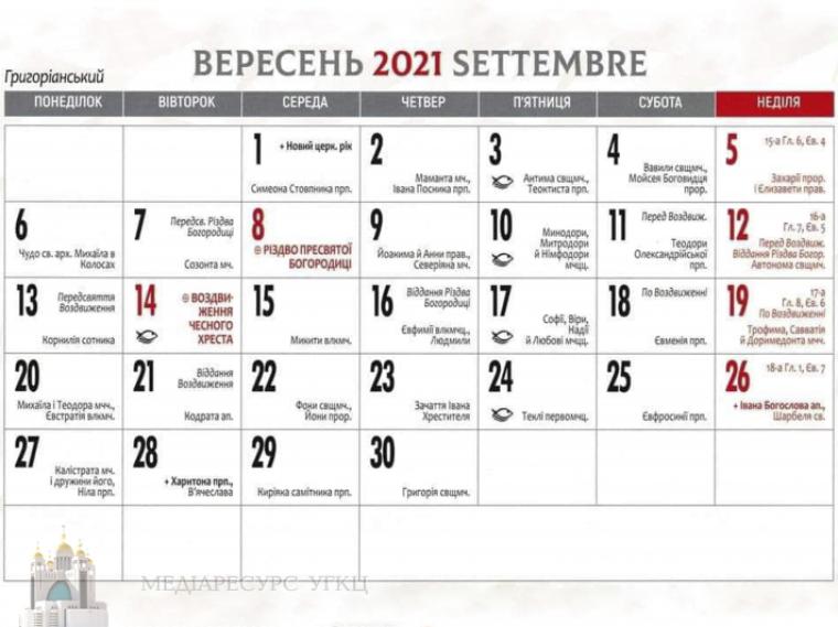 Все общины УГКЦ в Италии переходят на григорианский календарь
