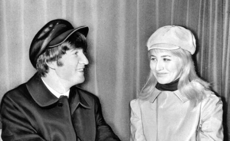 Джон и Синтия Леннон / nbcnews.com