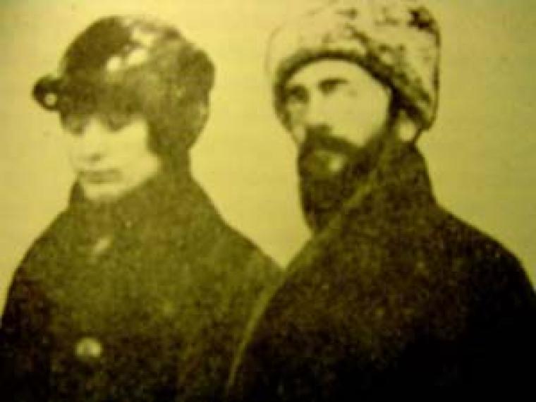 Супруги Фаня и Арон Бароны
