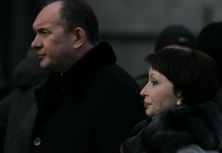 Олена Лукаш та її чоловік Григорій Ілляшов, 2010 р.