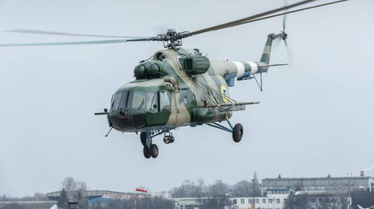 Українські Сухопутні війська отримали модернізований вертоліт Мі-8МТ