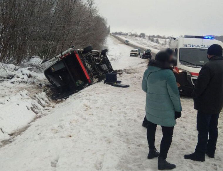 У ДТП на Полтавщині постраждало дві людини