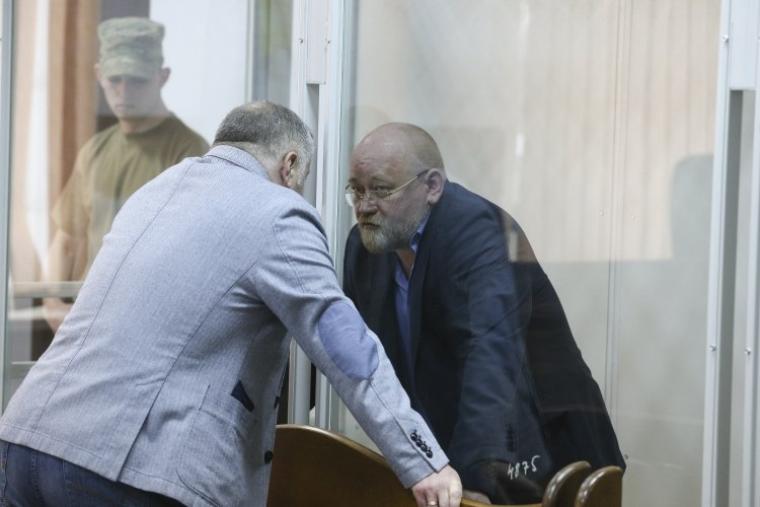 Володимир Рубан в залі суду