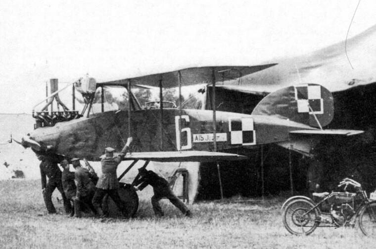 Літак «Альбатрос» JI польської військової авіації