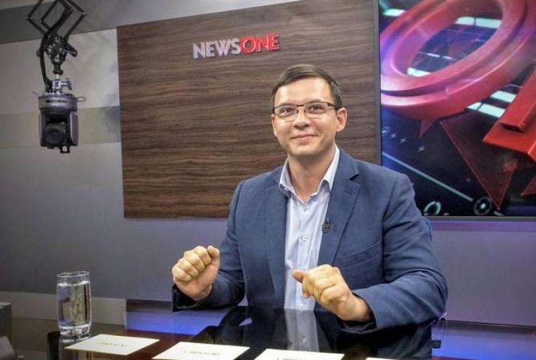 Євгеній Мураєв в студії телеканалу