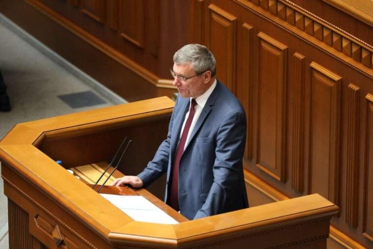 Олег Уруский выступает во время заседания Верховной Рады/vesti.ua