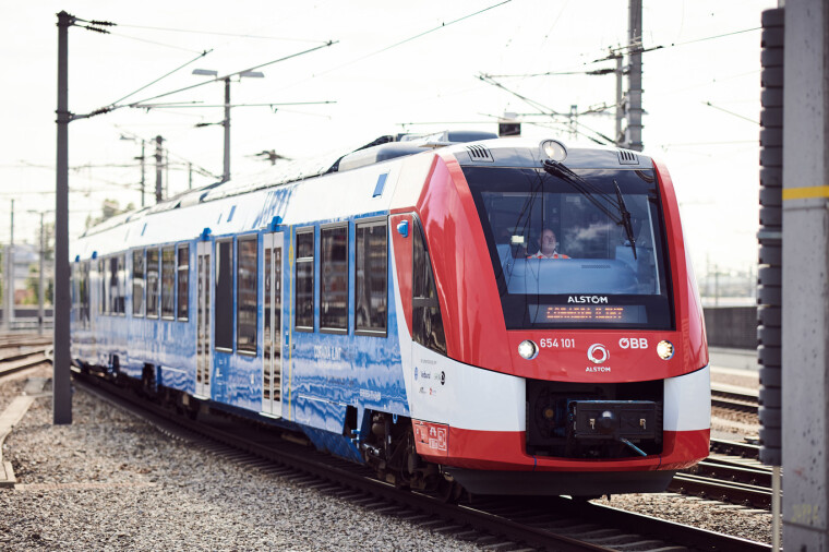 Водневий поїзд Alstom/alstom.com