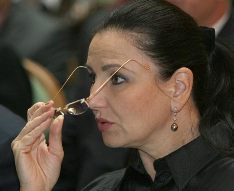 Заступник міністра юстиції України, член Партії регіонів Інна Богословська, 2007 р.
