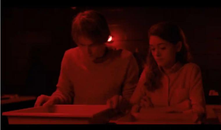 Кадр из американского сериала Stranger Things