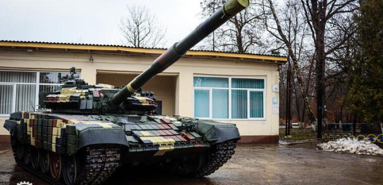 Модернизированный танк от Львовского бронетанкового завода