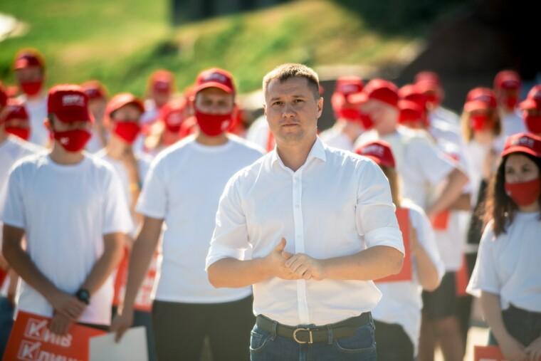 Кандидат в депутати від УДАРу Михайло Терентьєв