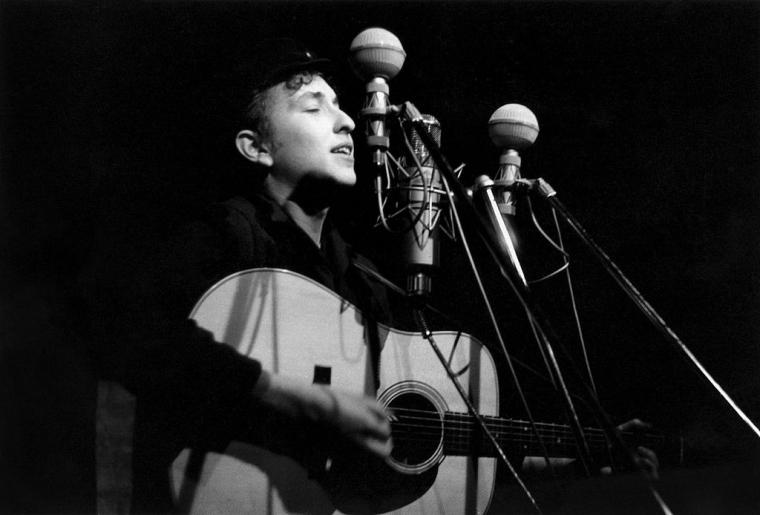 Боб Дилан, 1961 год
