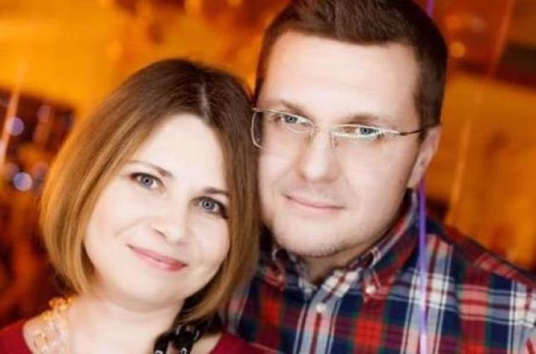 Иван Баканов с женой Оксаной Лазаренко