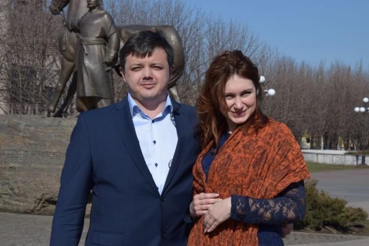 Семен Семенченко з дружиною Наталією Московець/0564.ua