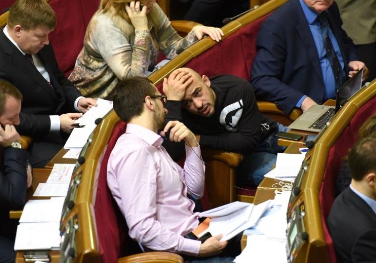 Нардепы Сергей Лещенко и Мустафа Найем