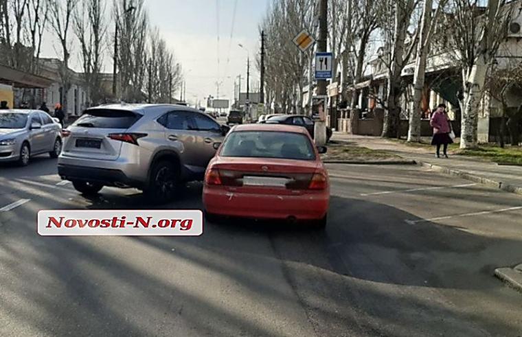 ДТП за участі Lexus Ірини Аллахвердієвої