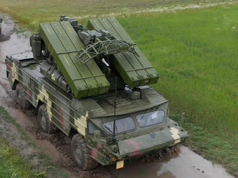 """Зенітний ракетний комплекс """"Оса-АКМ"""""""