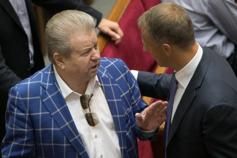 Народний депутат Михайло Поплавський в залі Верховної Ради 2017 р