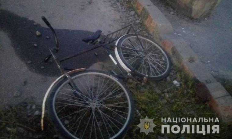 Погибший ехал на велосипеде